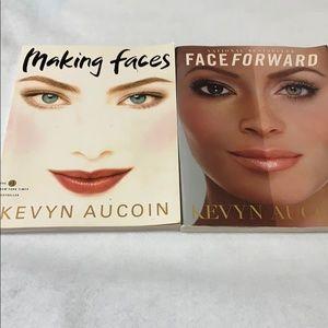 Two Kevyn Aucion Books Making Faces & Face Forward